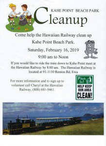 Hawaiian Railway Cleanup